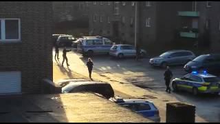 Polizei schießt auf bewaffneten Mann