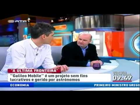 Interview of Nuno Gomes on GalileoMobile at RTP 24th of November 2013