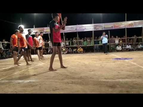 kabaddi match at Harnai