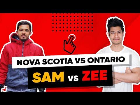 Canada Student Visa: Nova Scotia vs Ontario Debate! 1st in Youtube! কে জিতলো? কমেন্ট এ বলুন! (2020)