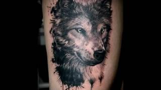 фото примеры тату волчица для статьи про значение рисунка волчицы в татуировке
