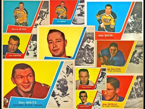 1963-64 Topps NHL Complete Hockey Card Set