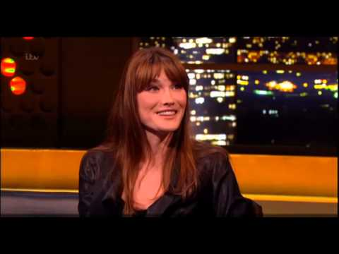 Carla Bruni On The Jonathan Ross Show May 18, 2013 - Full Interview