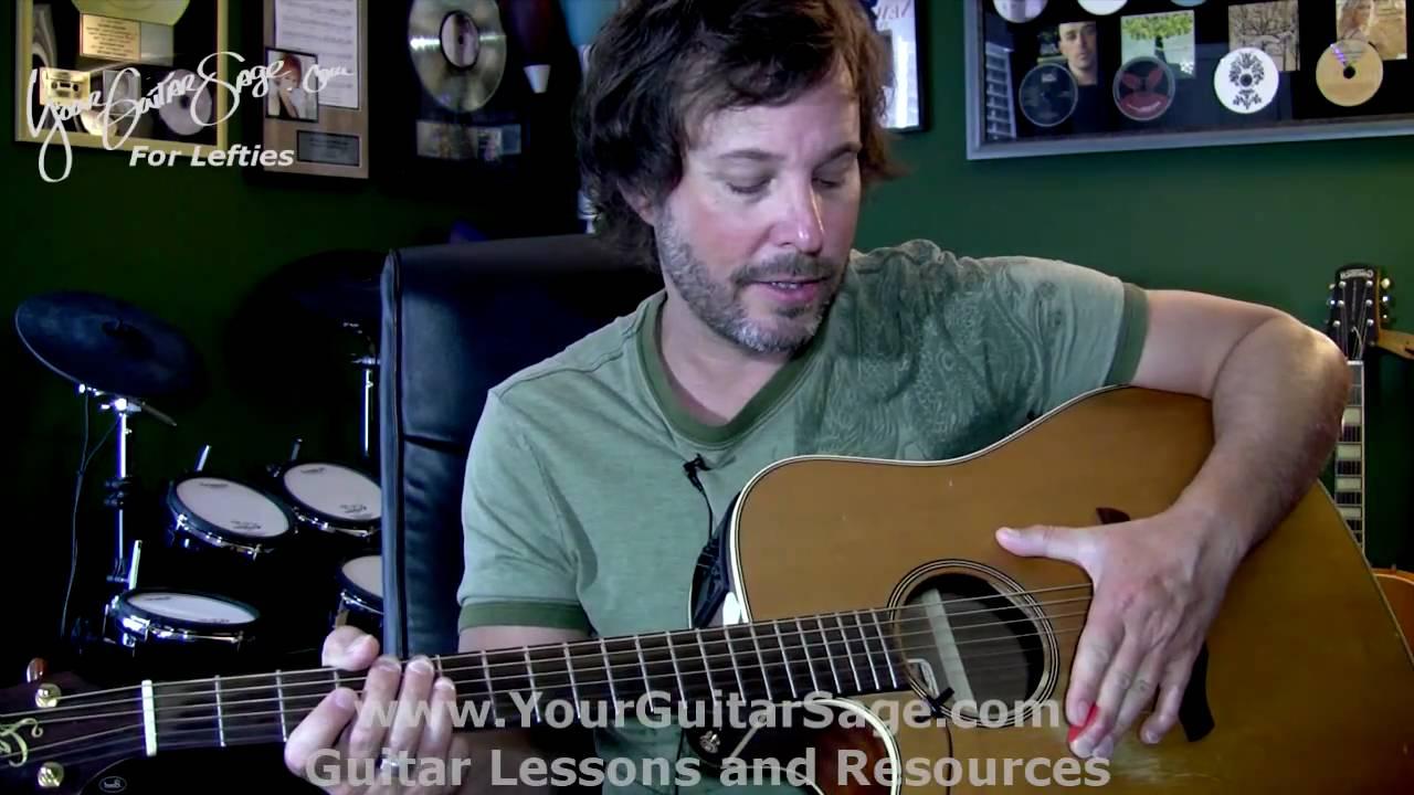 1st lefty beginner guitar lesson left right hand. Black Bedroom Furniture Sets. Home Design Ideas