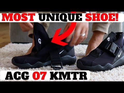 "MOST UNIQUE SHOE OF 2017? (NIKE ACG 07 KMTR REVIEW) ""Komyuter"""