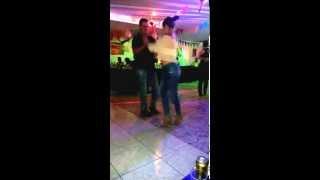 Bailando porro en la Cumbiamba