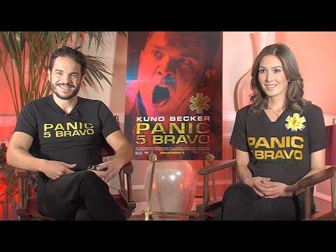 Kuno Becker & Aurora Papile Interview: Panic 5 Bravo