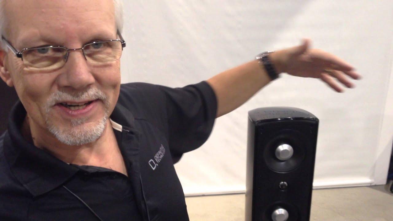 CEDIA 2013 Definitive Technology Mythos STL loudspeakers YouTube