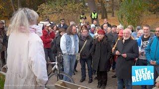 Anwohnerprotest: Über 100 Jahre alter Park in Lankwitz soll gerodet werden