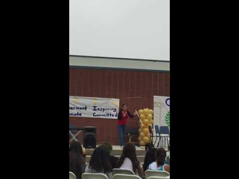 Suzy Live at Olive Middle School