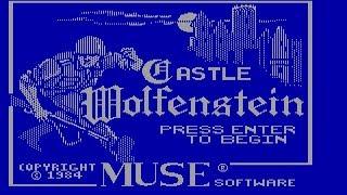 Castle Wolfenstein (PC/DOS) 1984, Muse Software