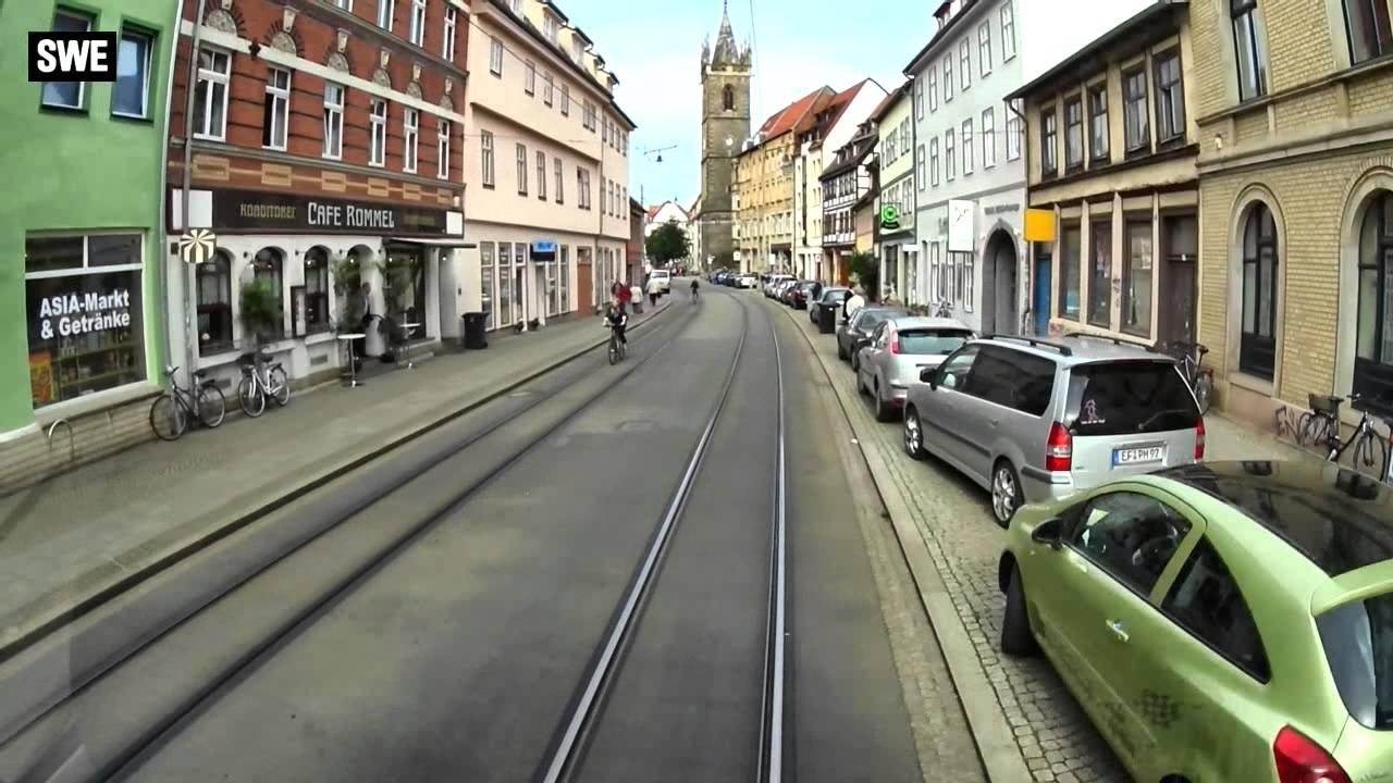 Linie 1 Erfurt - Kurzversion - YouTube