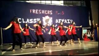 Fresher's 2k15 Group Dance at Cummins College of Engg for Women