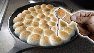 How To Make S'mores In The Oven | S'more Dip | This is Life Changing!