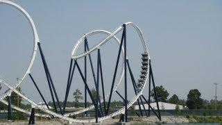 led zeppelin the ride roller coaster pov hard rock park myrtle beach sc