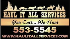 Haul It All Services - Junk Removal - Trash Hauling. Albuquerque and Rio Rancho New Mexico