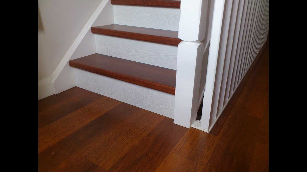 quick step laminate stairs youtube. Black Bedroom Furniture Sets. Home Design Ideas