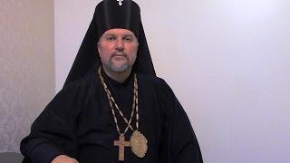 Архиепископ Сергей Журавлев, проповедь в церкви