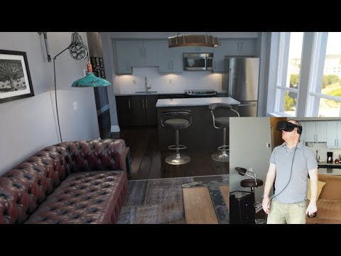 VR Virtual Reality Architecture (Archviz) With Unreal Engine 4  On Oculus Rift