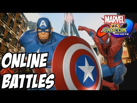Marvel vs Capcom Infinite – Spider Man and Captain America online