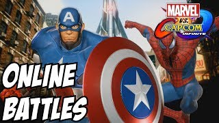 Marvel vs Capcom Infinite – Spider Man and Captain America online