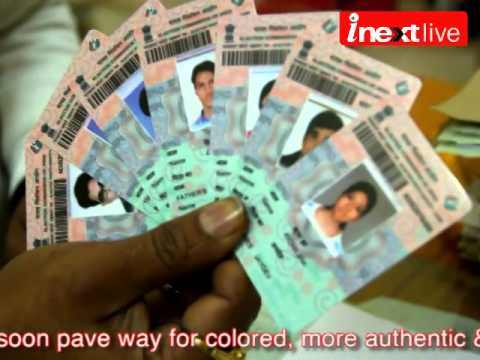 Voter ID Cards To Go Colourful