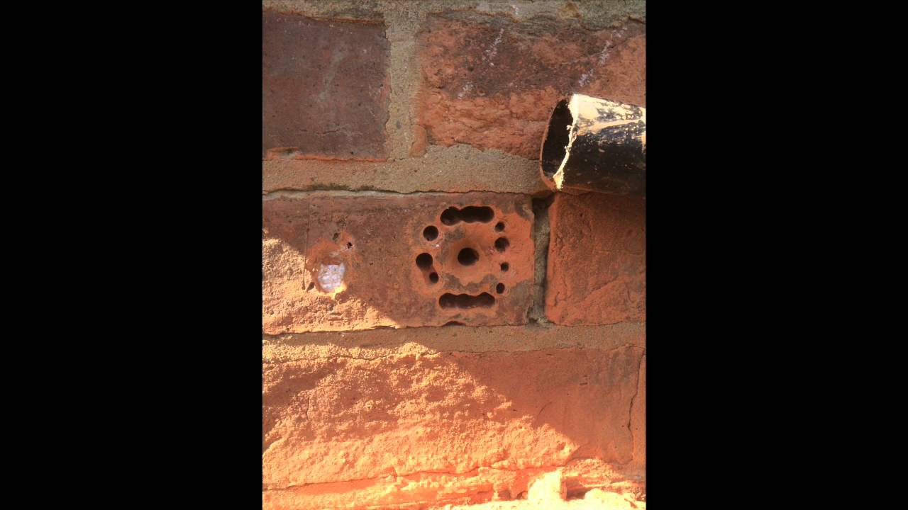 Cutting A Hole In Wall : Stitch drilling a hole for waste pipe youtube