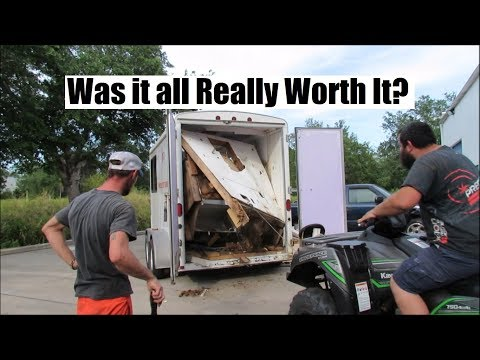 Remodeling an Enclosed Trailer