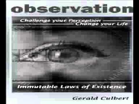 Observation Challenge your perception Change your Life