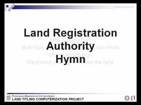 LRA (Land Registration Authority) Hymn