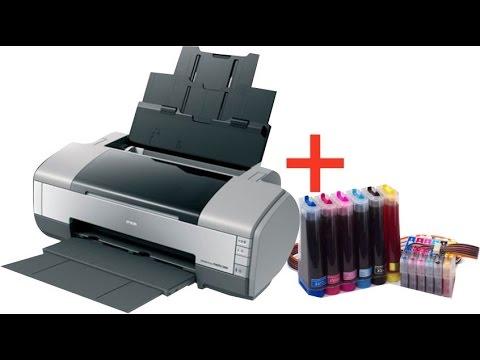 Epson Printer Stylus Photo 1390 Reset Maindboard Youtube
