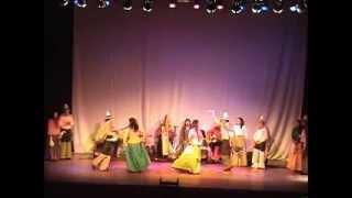 """""""Danza Cañaveral"""" Grupo de Cantos y Danzas """"Aires de mi Tierra"""" de Los Ángeles"""