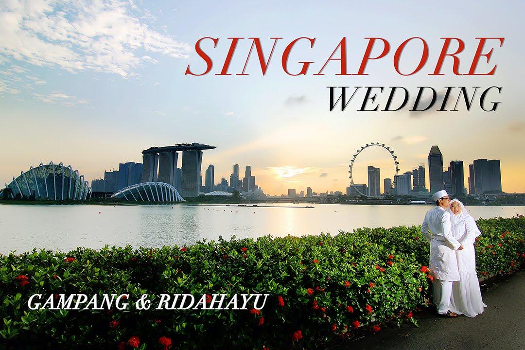 A Muslim Wedding Ceremony At Masjid Sultan Singapore Gampang Ridahayu