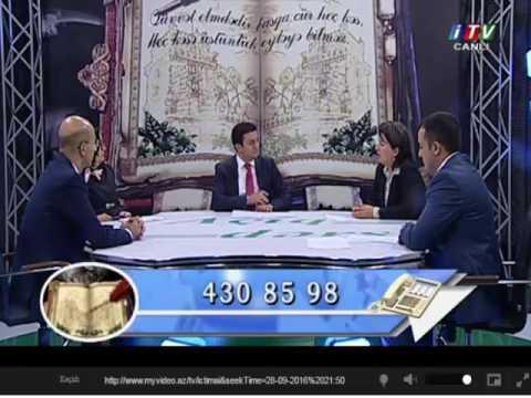 """İTV / """"Açıq dərs"""" / 28 sentyabr 2016"""