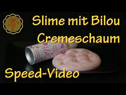 fluffigen slime selber machen deutsches video