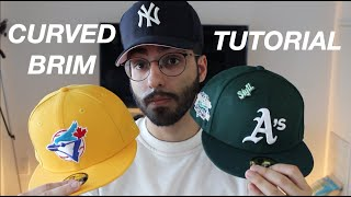 HOW TO CURVE TΗE BRIM OF YOUR HAT