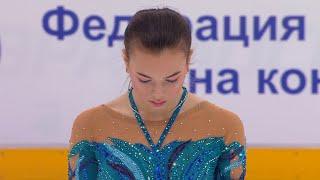 Анастасия Тараканова Короткая программа Кубок России по фигурному катанию 2020 21 Пятый этап