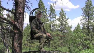 Hung Right Hunter Chair vs. Average Tree Stand - Rethink Your Position