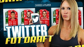 I LET TWITTER CHOOSE MY FUT DRAFT!! FIFA 18 ULTIMATE TEAM