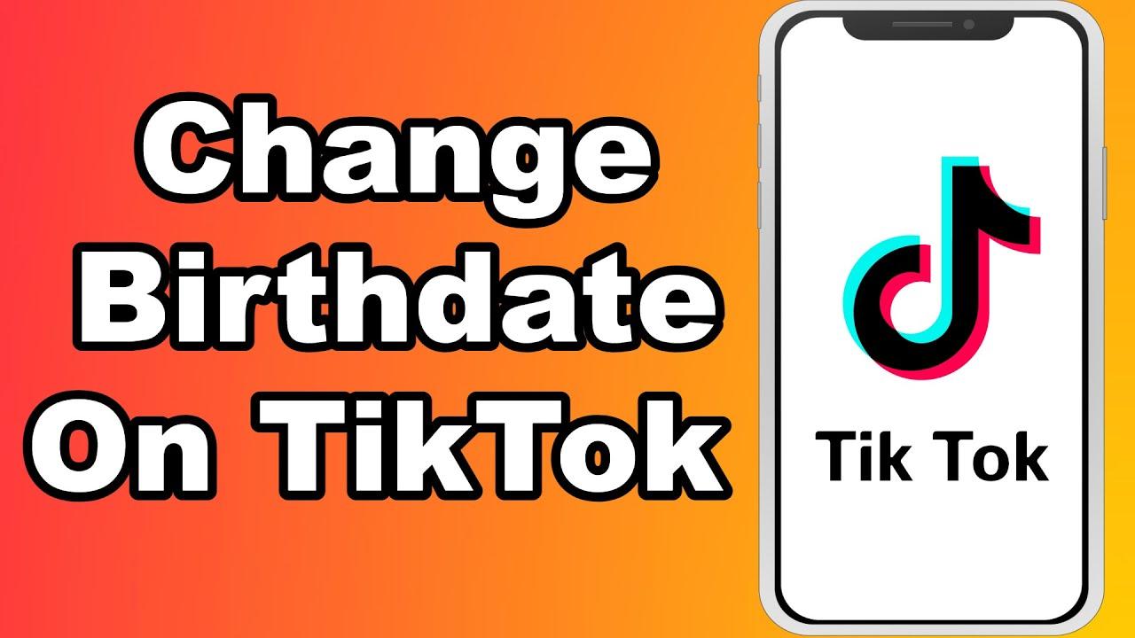 How To Change Birthdate On Tiktok 2021 Easy Change Tiktok Age Instantly Youtube