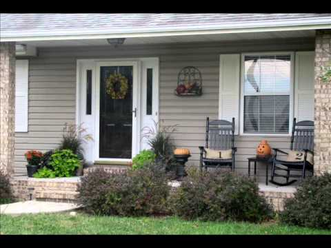 Uncovered Porch Designs For Ranch Homes - Modern home ...