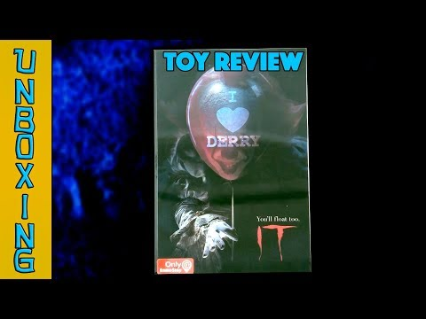 UNBOXING! NECA Pennywise Game Stop Exclusive Action Figure 2018 - Toy Review!