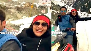 Rimy Tomy in Kashmir Funny Video