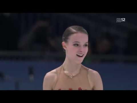 Anna SHCHERBAKOVA RUS Free Skate 2020 European Championships