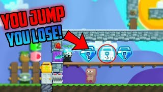 Growtopia  | You JUMP, You Lose! (Very Funny) | Ft. PeterW
