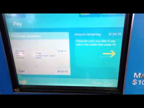 How To Buy Myki Card From Machine