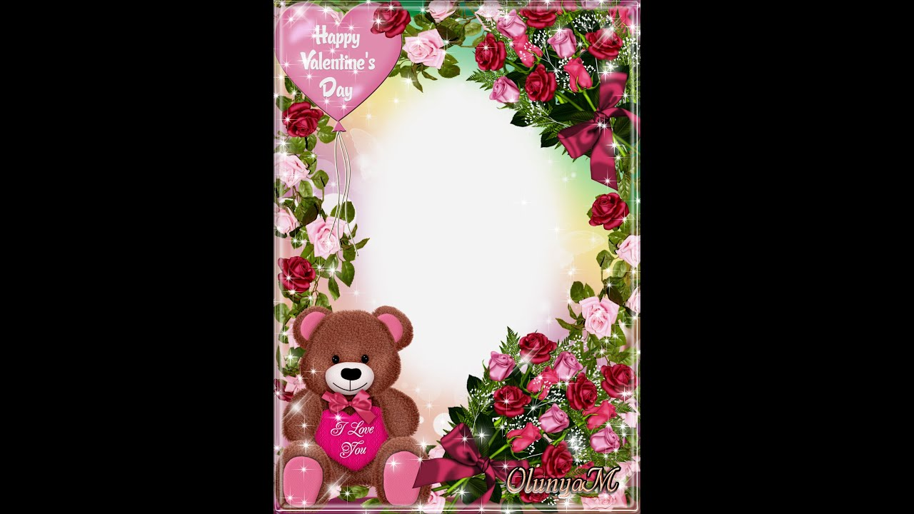 Frame Templates - Frame for love - Happy valentines day (Download ...