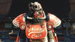 Fallout 4 Nuka-World - силовая броня Ядер-кола