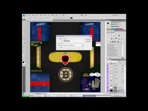 Tutorial on making Jerseys for NHL 2009 and others (HD) Part 1