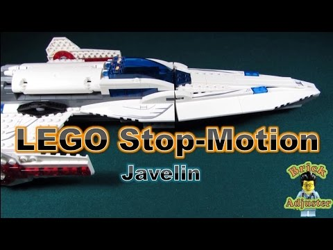 Lego Stop Motion #38 - The Javelin - DC Superheroes ...